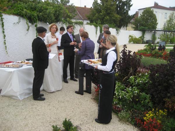 Hochzeit-Stehempfang